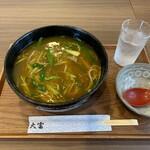 大富そば - 料理写真:カレーそば(温)①