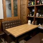 Restaurant OCEM - 個室2〜4名様ソファー席
