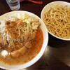 ピコピコポン - 料理写真:【限定】塩つけ麺(ヤサイニンニクアブラ)+おいしい脂 900+100円