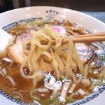 中華そば 六感堂  - 中華そばの麺