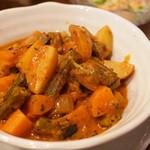 アシルワード - 野菜カレー(日替わりランチ)