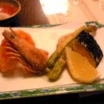へんみ  - しらさ海老の天ぷら