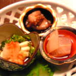 へんみ  - 和え物3種