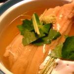 へんみ  - 穴子とおこわの蒸し物
