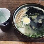 元祖しじみラーメン 和歌山 - 特製しじみラーメン(大貝)(1,100円)