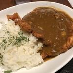 Dengana - ×ジャンボチキンカツカレー880円