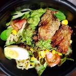 麺家 じょーだん - 野菜モリモリサラダ麺(ごまだれ)