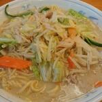 ねぎっこ - 料理写真:野菜らーめん(しお味)