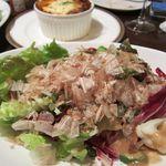 キンピラキッチン - 根野菜とオクラのねばねばサラダ
