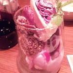 ちゅらり - 紅芋パフェ