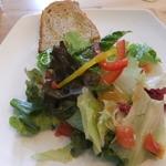 チャオカーロ - サラダ&パン(パンはおかわり自由)