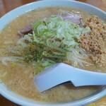 はらだ - 料理写真:納豆味噌ラーメン 750円