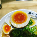 麺や佑 - 美しく美味しい味玉♡