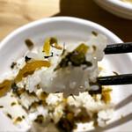 麺や佑 - ご飯の炊き加減も良い