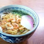 岡田うどん - 料理写真:天ぷらうどん