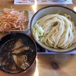 四方吉うどん - 「肉汁うどん 並」800円+「辛ねぎ」130円