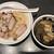 麺屋武蔵 武骨相傳 - 料理写真:濃厚黒厚切りローストポークつけ麺(並)