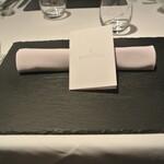 リストランテ カノフィーロ - 2020年6月6日のテーブルセット