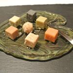 リストランテ カノフィーロ - きょうも美味しい手作り生チョコレート