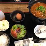 湯浅豆腐店 - 料理写真:麻婆豆腐膳