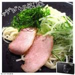 炭焼わが家 - 広島つけ麺(ハーフサイズ(ランチ限定メニュー)