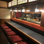 酒肴 大阪まんぷく堂 - カウンター