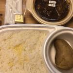 オーベルジーヌ - 野菜とポーク(辛口)