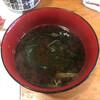 倖寿し - 料理写真:潤菜の赤出汁!