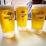 天遊 - 生ビール