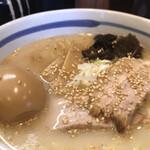 Ramenfukunoya - ふくのやらーめんの塩。             旨し。