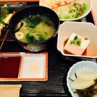 雲仙-ご飯、味噌汁おかわり自由。
