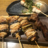 鶏舎 - 料理写真:とりの焼き加減はフワッとして美味。レバーは焼き過ぎ。