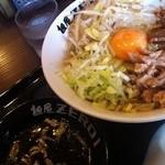 麺屋ZERO1 - ガッツ系油そば680円