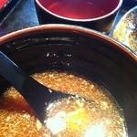13118114 - 割りスープで割ったところ