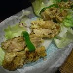 地酒とそば・京風おでん 三間堂 - 若鶏パン粉焼きカレー風味