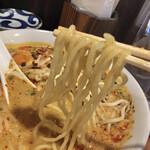 永吉 - 弾力を感じる麺