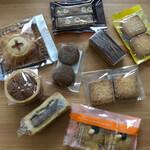 スイス・ドイツ菓子 こしもと - 箱から出してみた