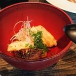 131186854 - 太刀魚と長芋の揚げ浸し