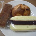 ぱんと洋菓子 オリムピックパン - シベリアとロッククッキーと黒糖きな粉ガレット
