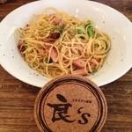 イタリアン食堂 良's - ベーコンとブロッコリーのペロペロピーノ