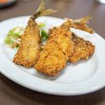 中華料理 三河屋 - 黄金鯵のフライ