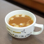 中華料理 三河屋 - スープ