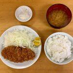 131193008 - ロースかつ定食 ¥700