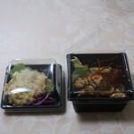 ヤッサイ モッサイ - 湘南台一美味しいポテトサラダ、山芋とチーズのペッパーソテーパック状態