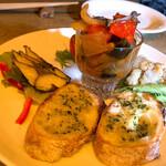 クロイマジョ - 前菜盛り合わせ5種