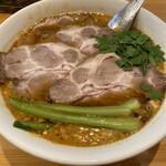 瀬佐味亭 - チャーシュー坦々麺