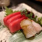 炭火焼鳥こみやま - 旬魚の刺身