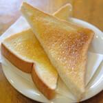 裏口の珈琲屋 - お食事セット 950円 のトースト