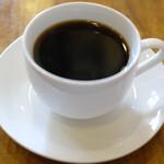 裏口の珈琲屋 - お食事セット 950円 のコーヒー