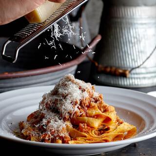 イタリア人シェフの作る自家製生パスタは必食◎